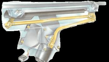 Servicing the windscreen-wiper mechanism