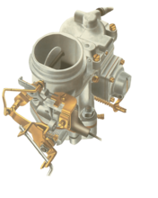 Adjusting a fixed-jet carburettor