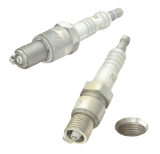 Cleaning and fitting spark plugs