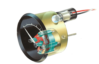 How an oil pressure gauge works