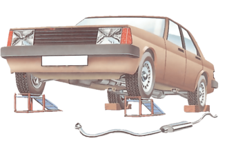 How to fit a new exhaust