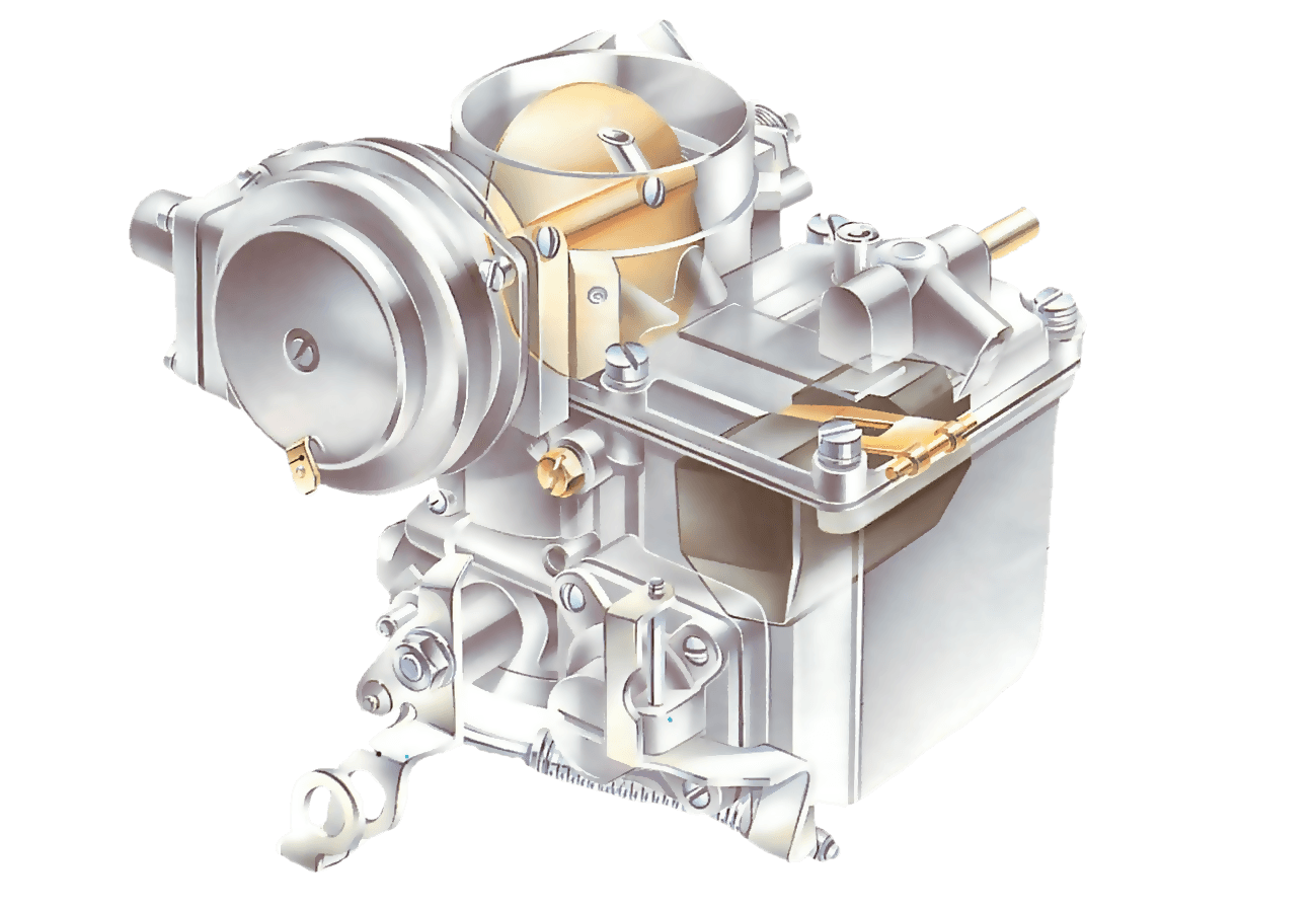 How the fuel system works - fixed-jet carburettors | How a