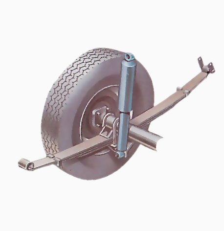 How car springs and dampers work