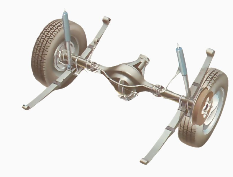 cleaning and checking leaf springs how a car works