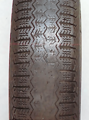 Centre tread wear