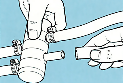 7. Plumbing in