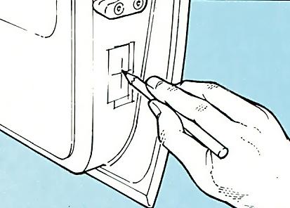 4. Mark bolt hole