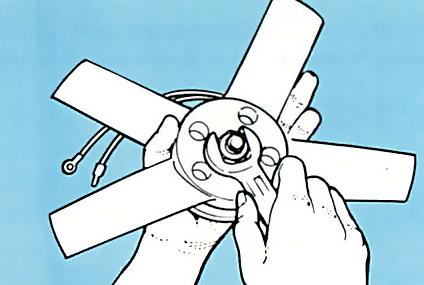 3. Assemble fan