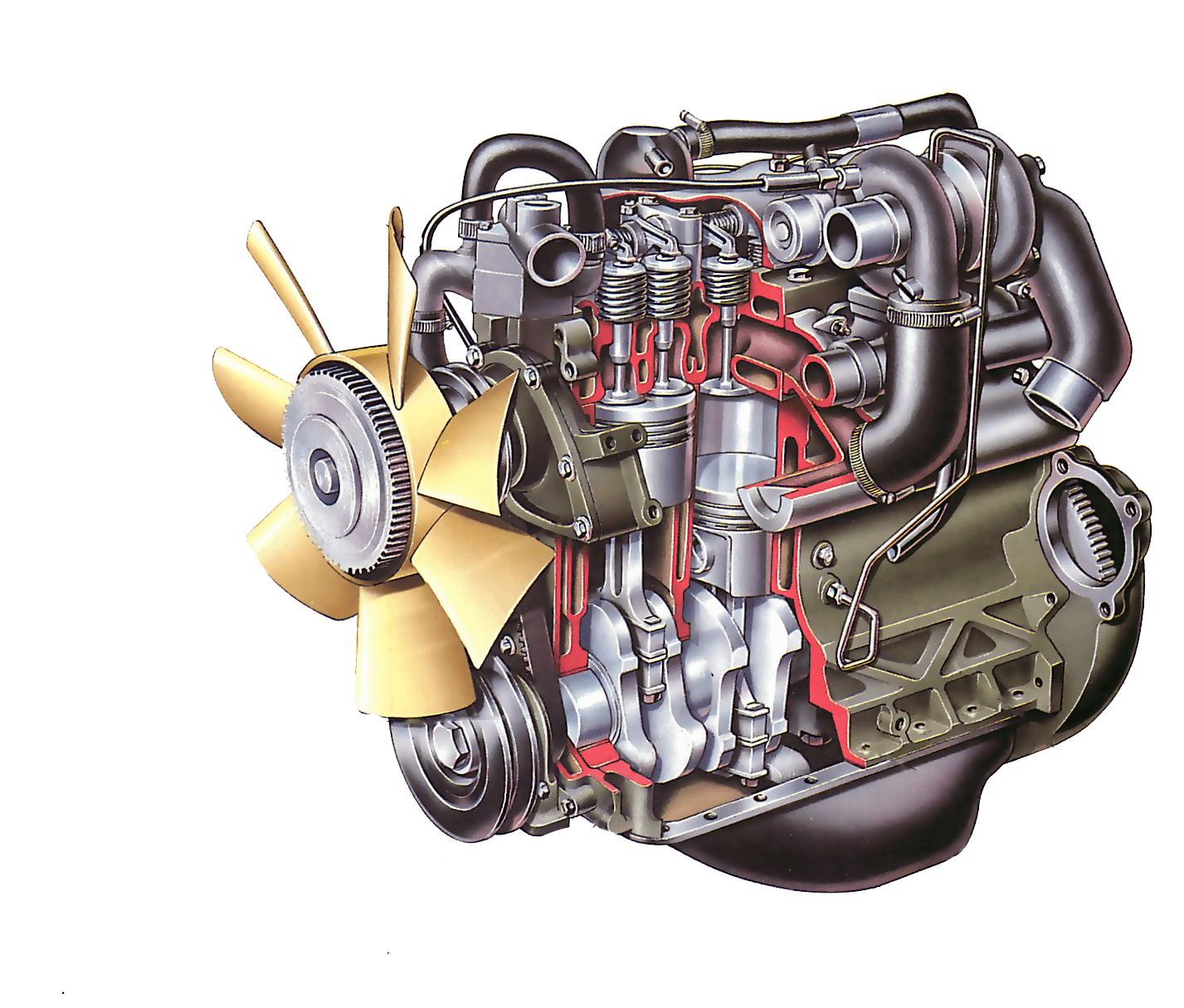Diesel Engine Working >> How A Diesel Engine Works How A Car Works