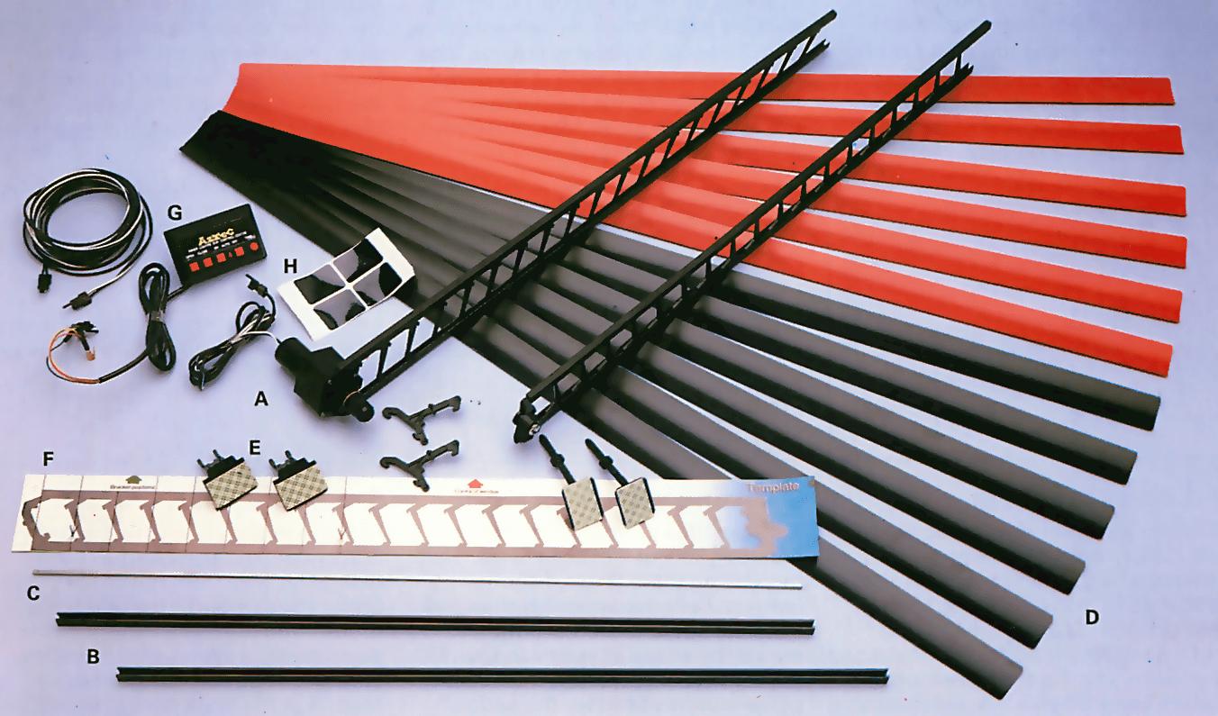 A window blinds kit