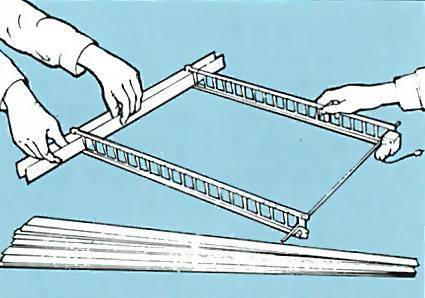 6. Assemble blind