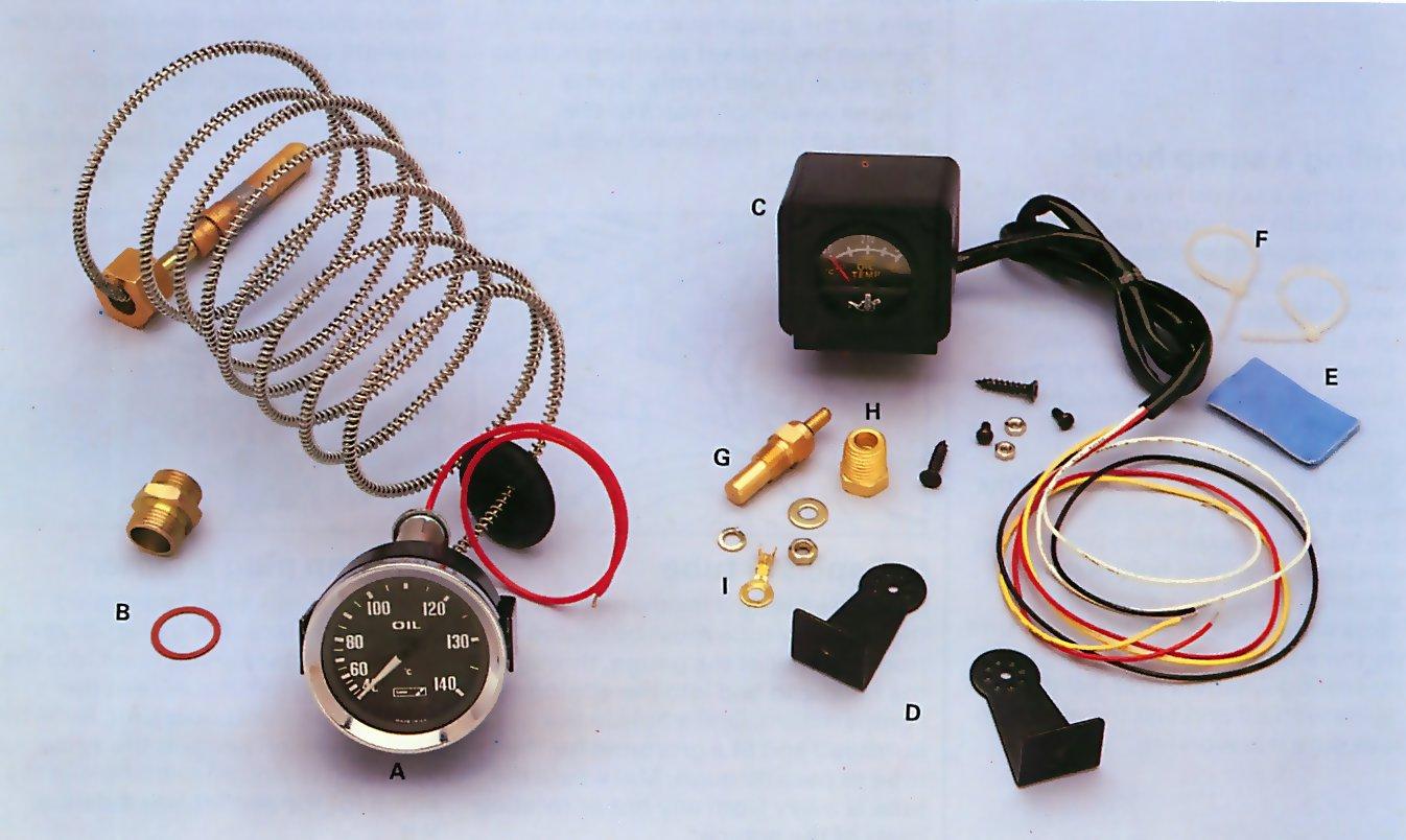 electric temperature gauge wiring diagram electric how to install an oil temperature gauge how a car works on electric temperature gauge wiring