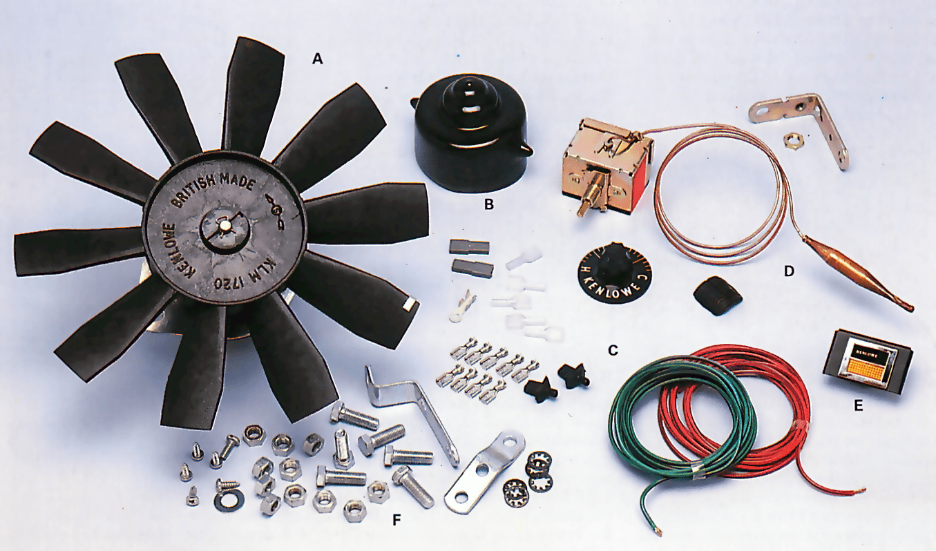 Suction fan kit