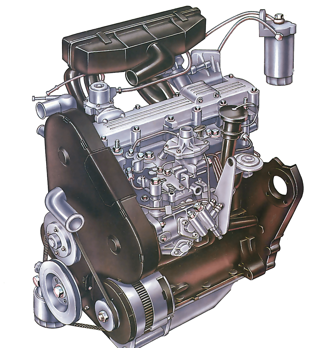 Servicing a diesel engine | How a Car Works