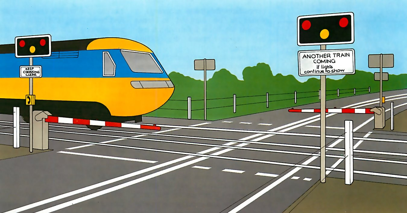 Crossing train tracks safely how a car works