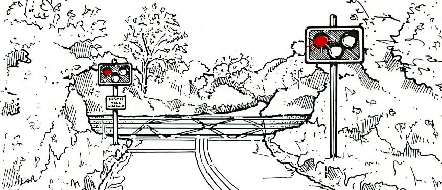 Open level crossings