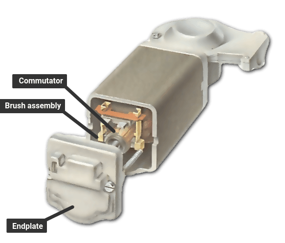 A wound-field motor