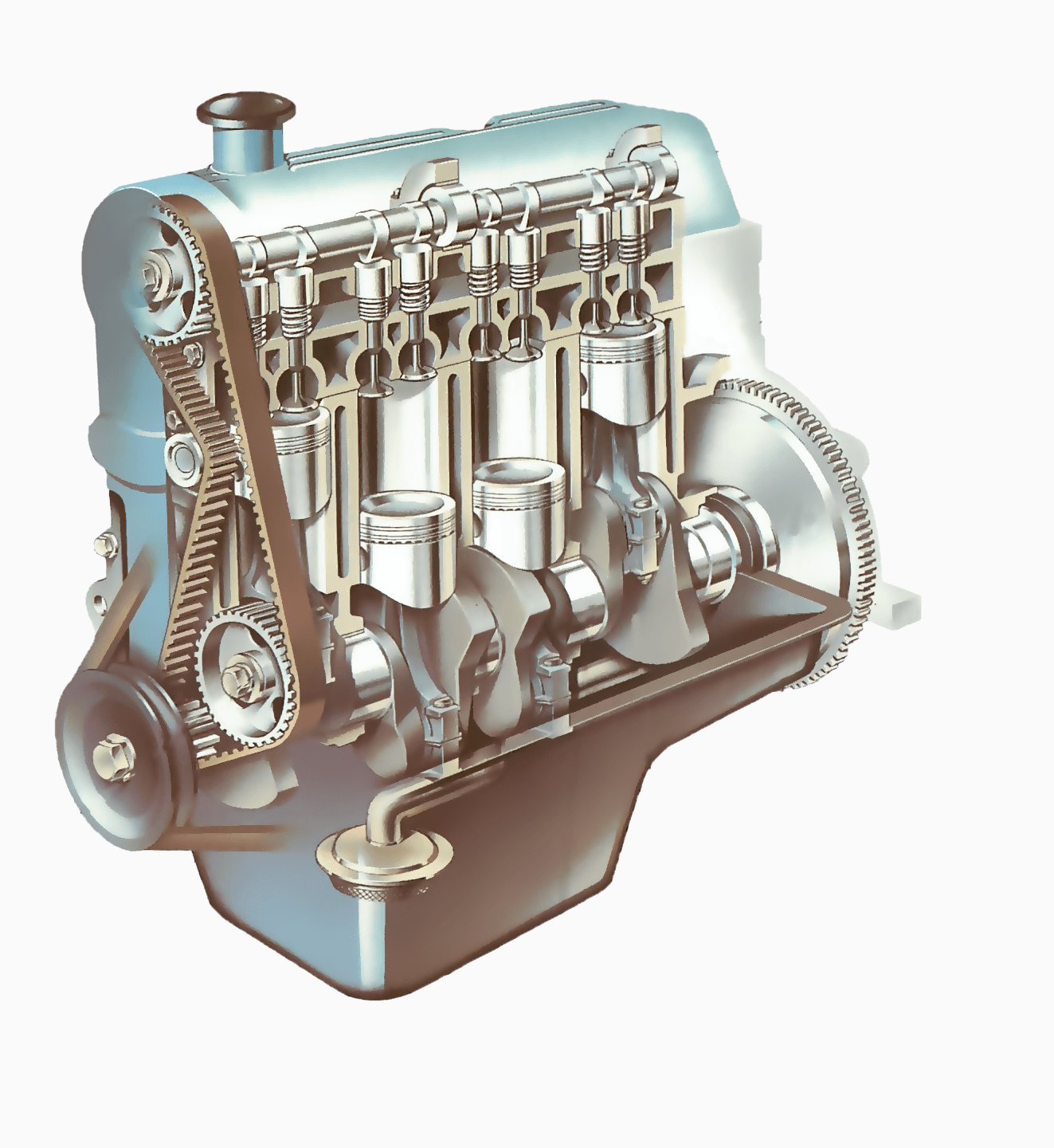 The engine how a car works the engine malvernweather Choice Image
