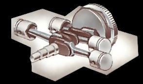 Horizontally-opposed engine