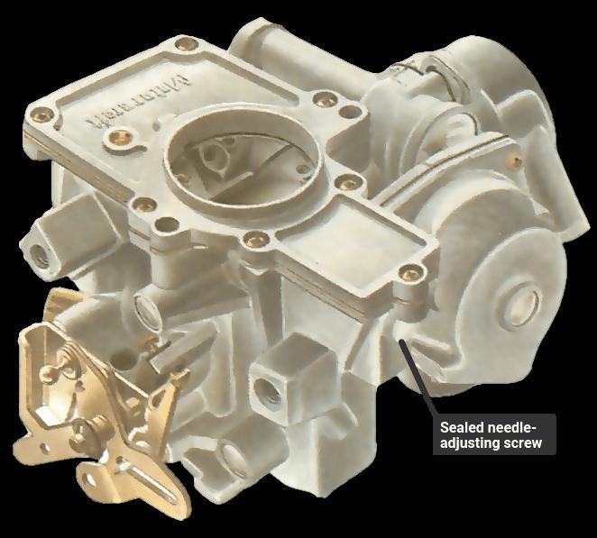 Variable venturi carburettor