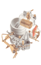 Checking and cleaning a fixed-jet carburettor