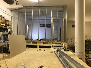 Video Course: Studio build underway