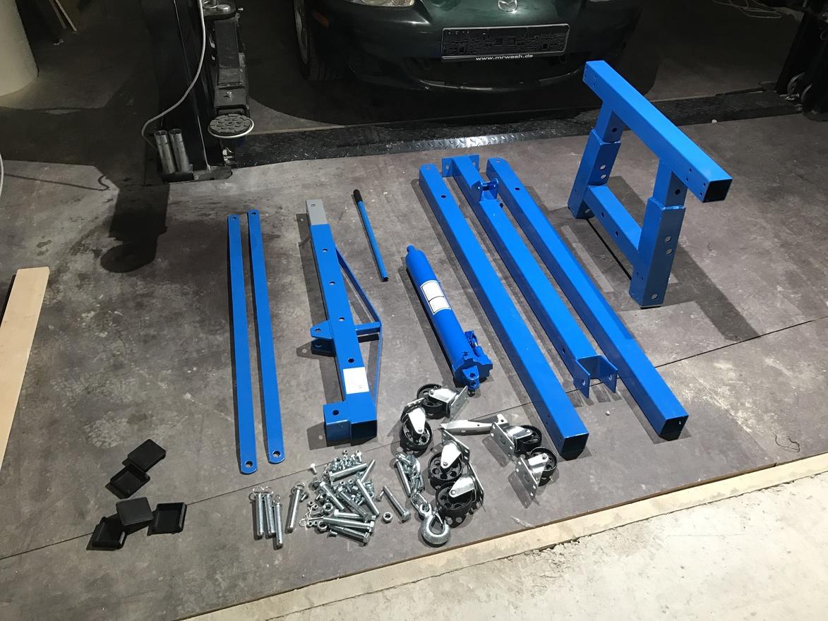 Engine crane parts w1400