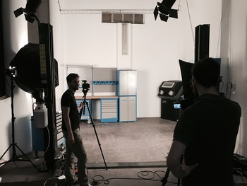 Video Course: Filming begins, tools arrive and 3D models