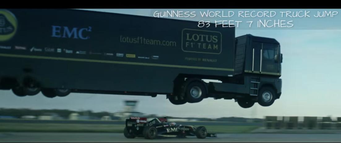 lotus-f1-truck-jump