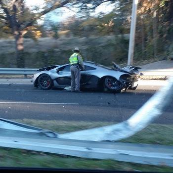 Million dollar McLaren survives single day on the road