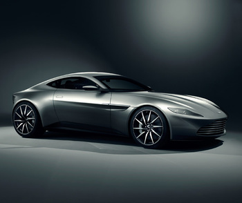 Aston Martin reveals Bond's new DB10