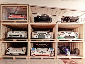 Inside Porsche's secret warehouse