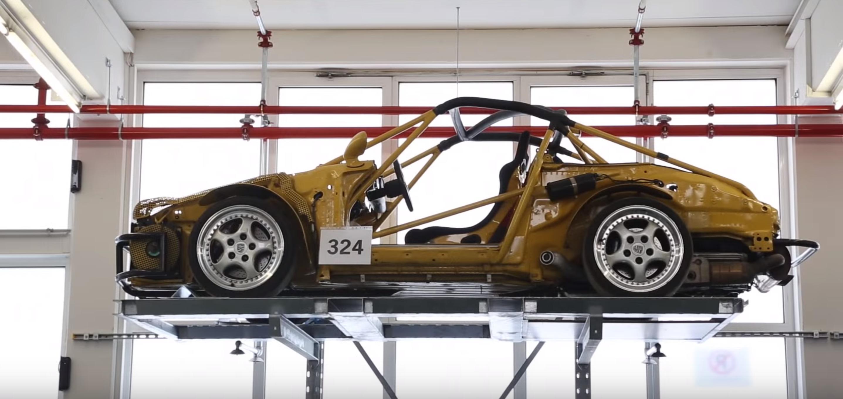 porsche-chassis