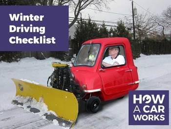 The 2015 Winter Motoring Checklist
