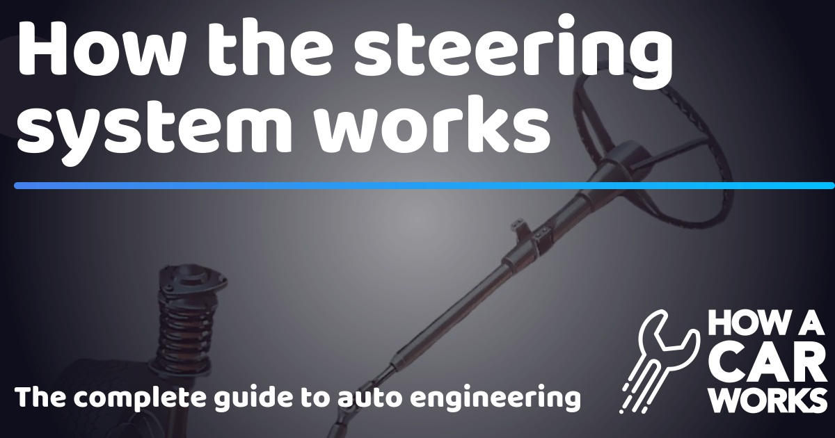 How the steering system works | How a Car Works