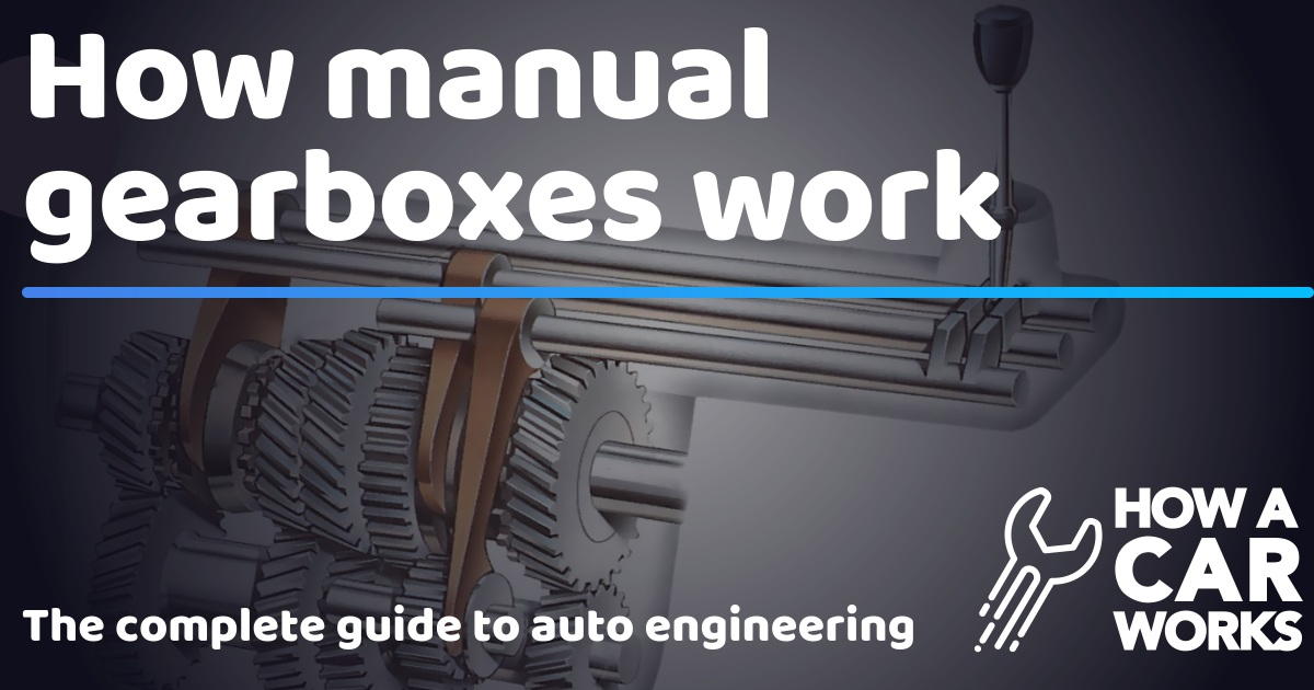 How manual gearboxes work | How a Car Works