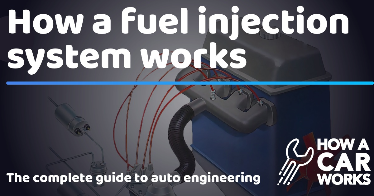 How a fuel injection system works | How a Car Works
