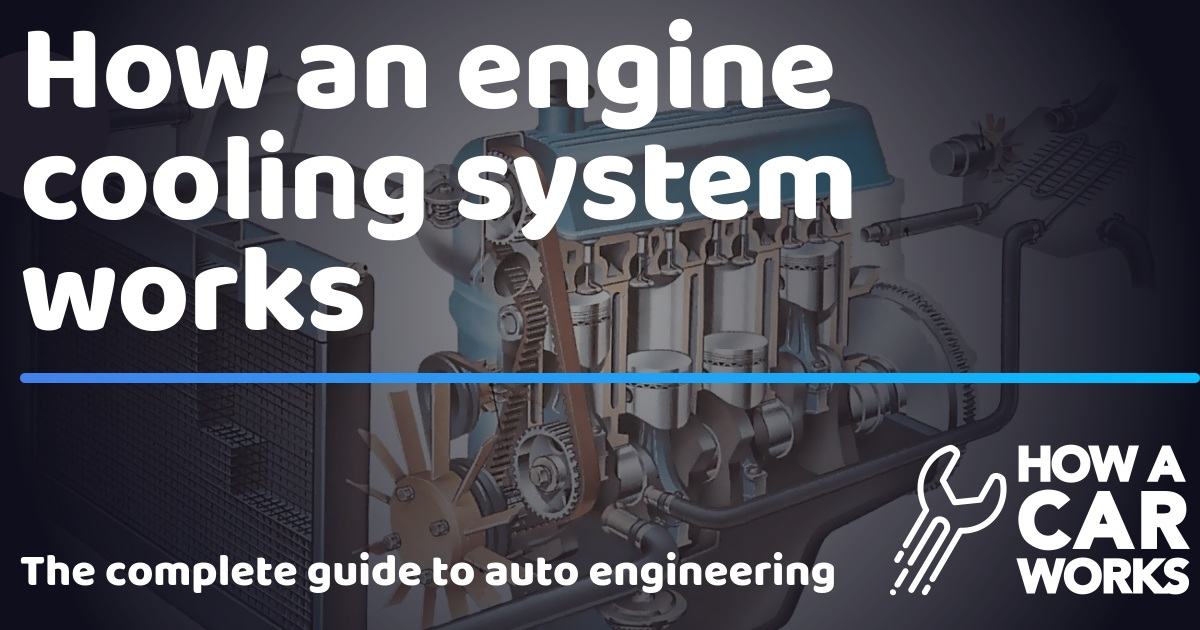 How an engine cooling system works | How a Car Works