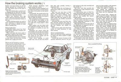 Cómo funciona el sistema de frenos