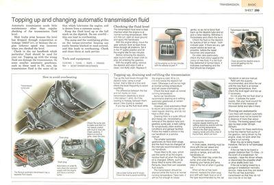Cómo comprobar y cambiar el aceite en la transmisión automática