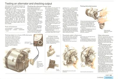 How Much To Replace Transmission >> Testing an alternator and checking output | How a Car Works