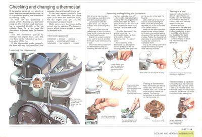 Cómo cambiar el termostato de un auto