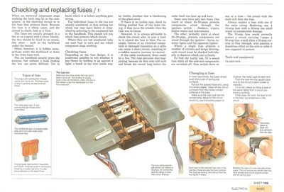 Comprobación y sustitución de fusibles