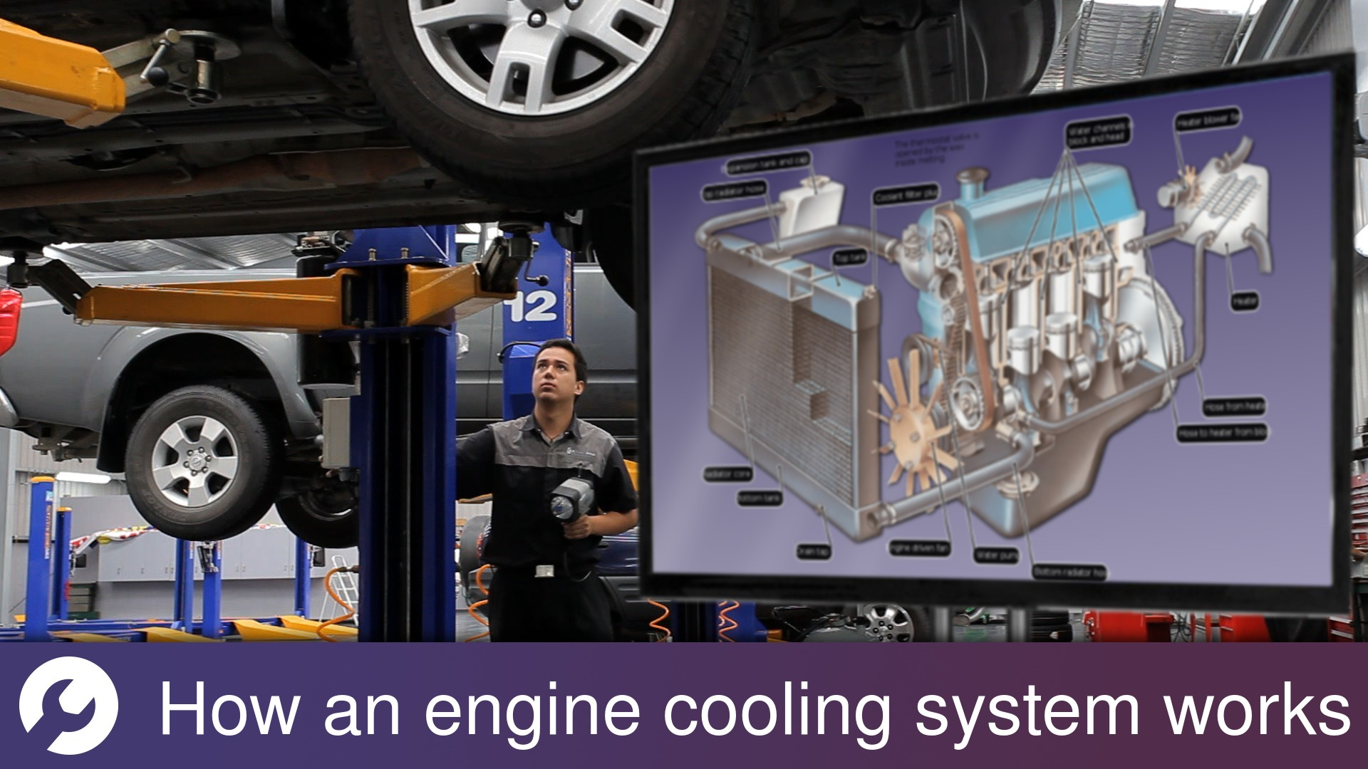 Fan That Blows Cold Air >> How an engine cooling system works | How a Car Works