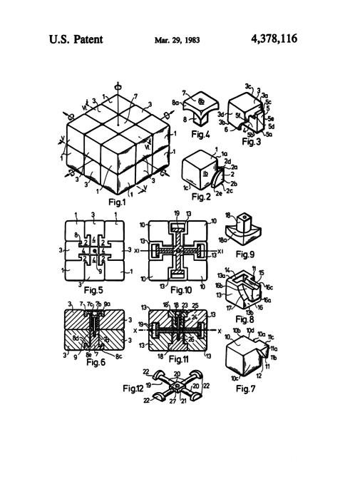 Rubiks cube thumb